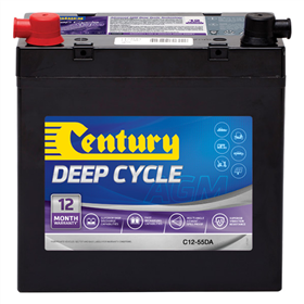 AGM Deep Cycle Battery 12v 55Ah