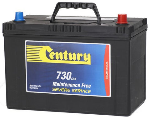 Century N70ZZLMF battery 730cca  125D31L