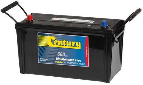 Century Commercial N100MF battery 730cca