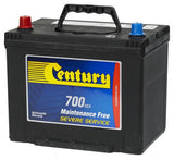 Century NS70ZMF battery 700cca