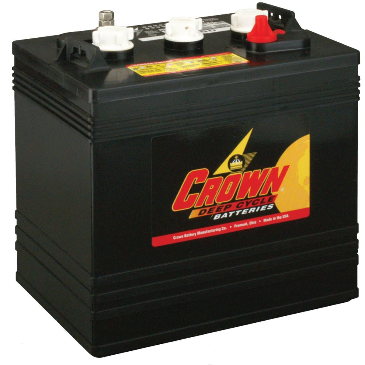 Crown CR220 Deep Cycle Battery 6V 220Ah