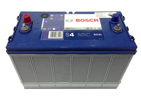 Deep Cycle Battery Flooded Bosch 12v 100Ah