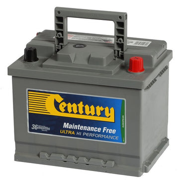 Century Car battery DIN55 ZLAGMF 500cca