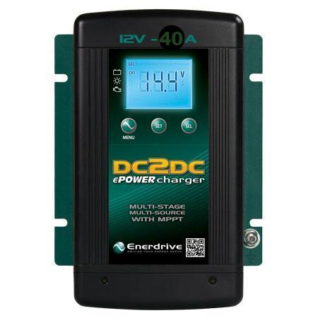 Enerdrive ePower DC2DC 40 Amp Battery Charger
