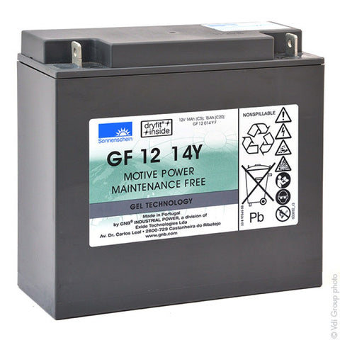 Golf Trundler Deep Cycle battery 12v 15Ah