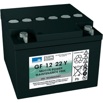 Golf Trundler Deep Cycle battery 12v 24Ah