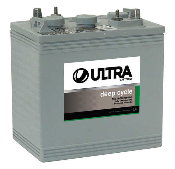 Ultra Deep Cycle Gel Battery 6V 180Ah