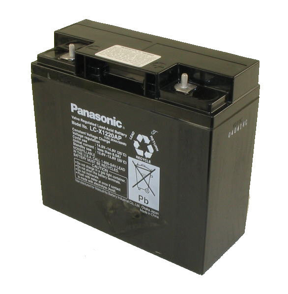 Panasonic SLA battery 12v 20Ah LC-P1220AP