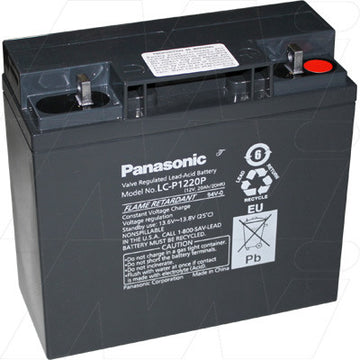 Panasonic 12v 20Ah SLA battery LC-P1220P