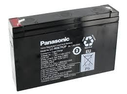 Panasonic 6v 12Ah SLA battery LC-V0612P