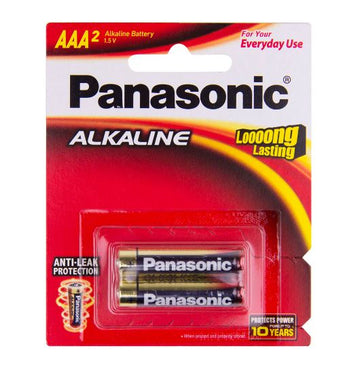Panasonic Alkaline AAA battery 2 Pack