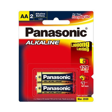 Panasonic Alkaline AA battery 2 Pack