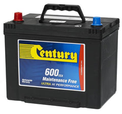 Century NS70MF battery 600cca
