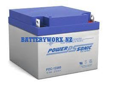 Deep Cycle Battery PowerSonic 12v 28Ah
