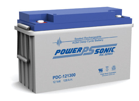 Deep Cycle Battery PowerSonic 12v 128Ah