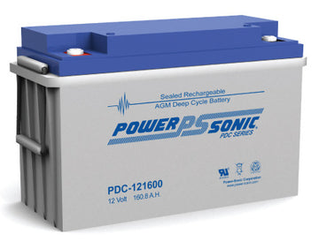 Deep Cycle Battery PowerSonic 12v 160Ah