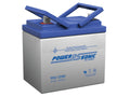 Deep Cycle Batteries 2 x PowerSonic 12v 35.0Ah
