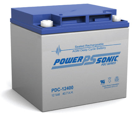 Deep Cycle Battery PowerSonic 12v 40.7Ah
