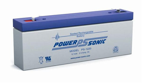 PowerSonic 12v 2.5Ah SLA battery