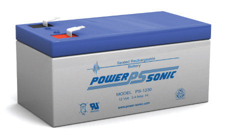 Alarm battery 12v 3.4ah