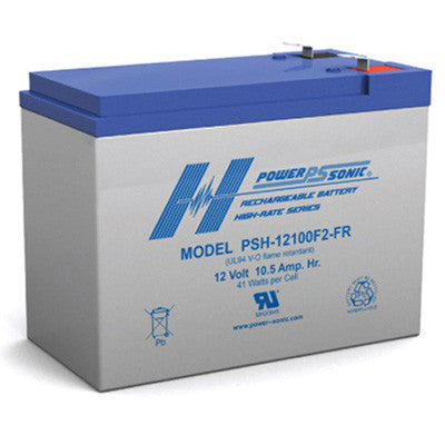 PowerSonic PSH 12v 10.5Ah SLA battery