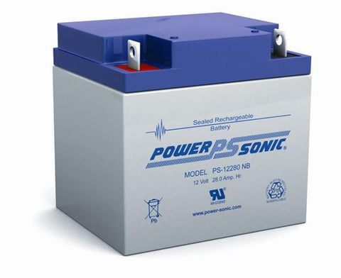 PowerSonic 12v 28Ah SLA battery