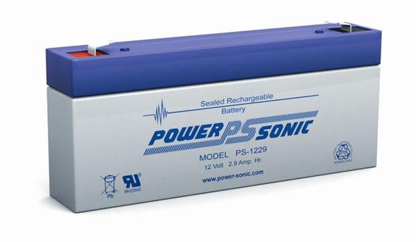 PowerSonic 12v 2.9Ah SLA battery