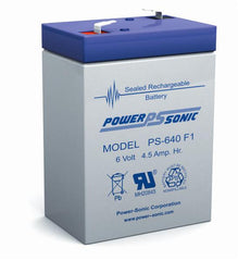 SLA battery 6v 4.5Ah