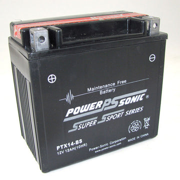 Motorbike battery 12v 12Ah  PTX14-BS