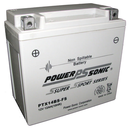 Motorbike battery 12v 12Ah PTX14BS-FS