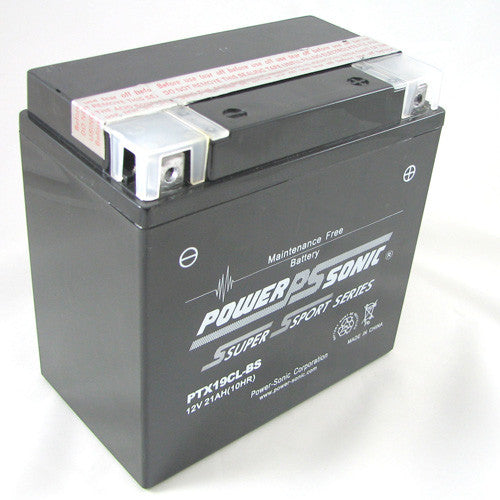 Motorbike battery 12v 21Ah PTX19CL-BS