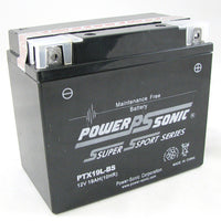 Motorbike battery PTX19L-BS
