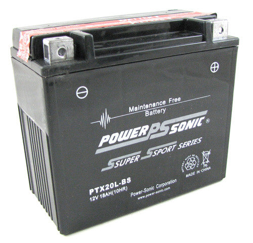 Motorbike battery PTX20L-BS 12v 18Ah