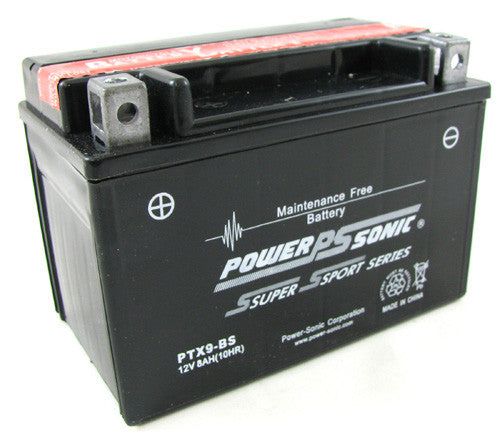 Motorbike battery PTX9-BS