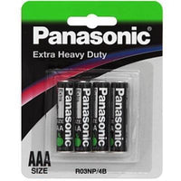 Panasonic Extra Heavy Duty AAA battery R03NP/4B