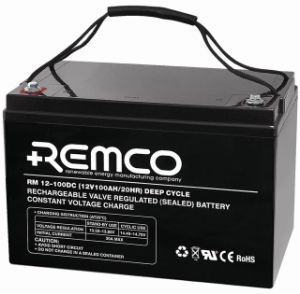 Remco AGM Deep Cycle battery 12v 100Ah