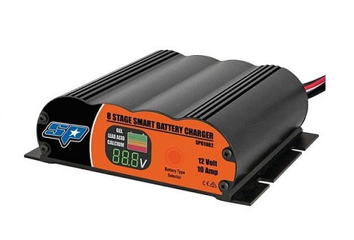 SP 8 Stage Universal Battery Charger - 10 Amp