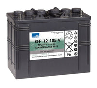 Sonnenschein Traction battery for Floor Scrubbers and Lifting equipment