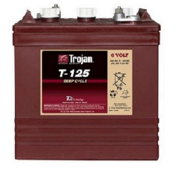 Trojan T-125 Deep Cycle battery 6v 240Ah