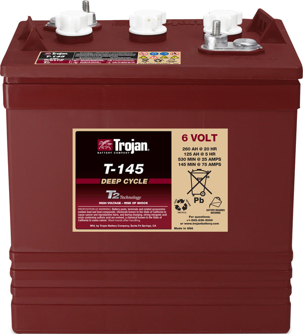 Trojan T-145 Deep Cycle battery