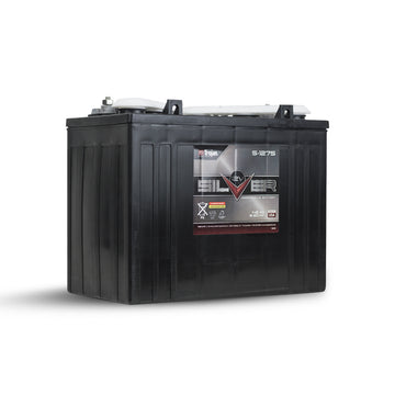 Trojan T-1275 Deep Cycle battery 12v 145Ah Silver