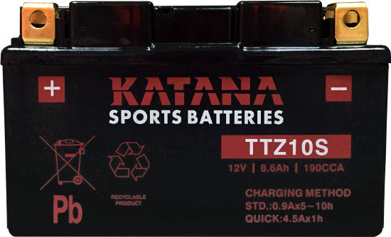 Katana Motorcycle battery TTZ10S