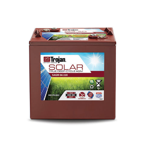 Trojan 6v 220Ah Solar battery AGM