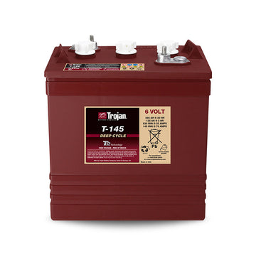 Trojan Deep Cycle Battery 6v 260Ah T-145