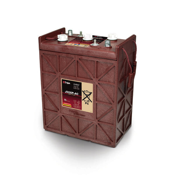 Trojan 6v 330Ah Deep Cycle battery J305P