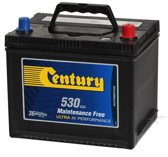 Century 58MF Car battery 530cca