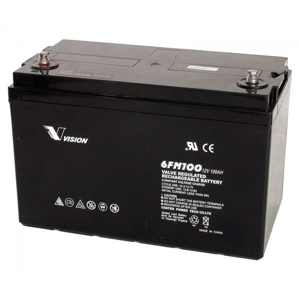 Vision AGM Deep Cycle battery 12v 100Ah