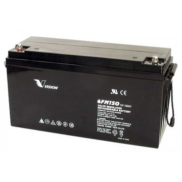 Vision AGM Deep Cycle Battery 12v 150Ah