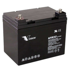 Vision Deep Cycle battery 12v 33ah 6FM33