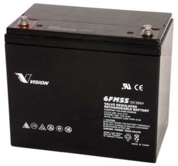 Mobility Scooter Batteries (2x Special offer) 12v 55Ah AGM